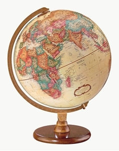 "Picture of Hastings 12"" World Globe - French Text"