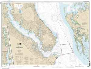 Picture of 12264 - Chesapeake Bay - Patuxent River And Vicinity Nautical Chart