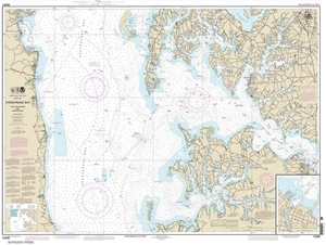 Picture of 12266 - Chesapeake Bay - Choptank River And Herring Bay Nautical Chart