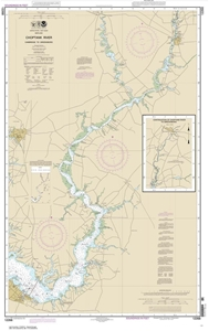 Picture of 12268 - Choptank River - Cambridge To Greensboro Nautical Chart