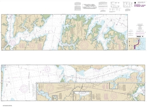 Picture of 11553 - Intracoastal Waterway - Albemarle Sound To Neuse River Nautical Chart