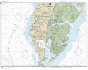 Picture of 12224 - Chesapeake Bay - Cape Charles To Wolf Trap Nautical Chart