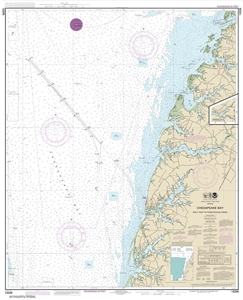 Picture of 12226 - Chesapeake Bay - Wolf Trap To Pungoteague Creek Nautical Chart