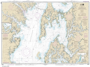 Picture of 12270 - Chesapeake Bay - Eastern Bay And South River Nautical Chart
