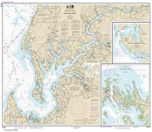 Picture of 12272 - Chester River Nautical Chart