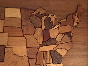 Picture of Wooden United States