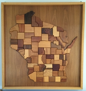 Picture of Wooden Wisconsin