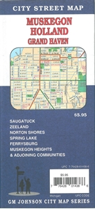Picture of Holland & Grand Haven Michigan Street Map