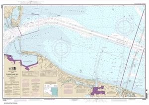 Picture of 12256 - Chesapeake Bay - Thimble Shoal Channel Nautical Chart