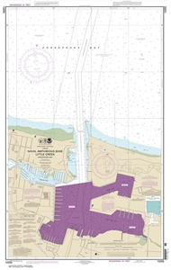 Picture of 12255 - Little Creek Naval Amphibious Base Nautical Chart
