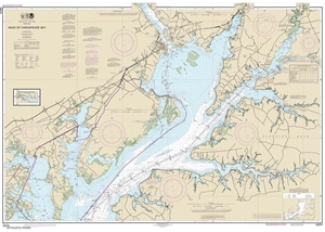 Picture of 12274 - Head of Chesapeake Bay Nautical Chart