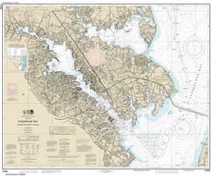 Picture of 12282 - Chesapeake Bay - Severn And Magothy Rivers Nautical Chart