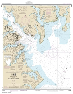 Picture of 12283 - Annapolis Harbor Nautical Chart