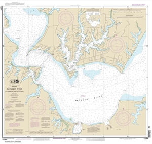 Picture of 12284 - Patuxent River - Solomons Island And Vicinity Nautical Chart