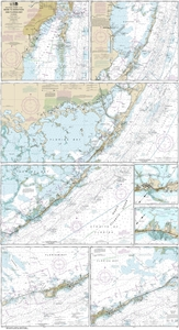 Picture of 11451 - Florida Keys - Miami To Marathon And Florida Bay Nautical Chart