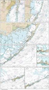 Picture of 11451 - Florida Keys - Miami To Marathon And Florida Bay Nautical Chart