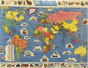 Picture of Educational Insights World Map Puzzle