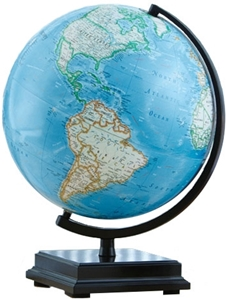 "Picture of Cambria Illuminated 12"" World Globe"