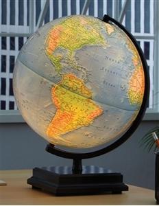 """Picture of Cambria Illuminated 12"""" World Globe"""