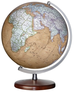 "Picture of Montour Illuminated 12"" World Globe"