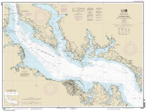 Picture of 12286 - Potomac River - Piney Point To Lower Cedar Point Nautical Chart