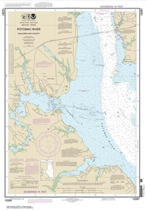 Picture of 12287 - Potomac River - Dahlgren And Vicinity Nautical Chart