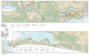 Picture of 11331 - Intracoastal Waterway - Ellender To Galveston Bay Nautical Chart