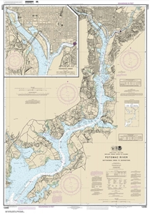 Picture of 12289 - Potomac River - Mattawoman Creek To Georgetown Nautical Chart
