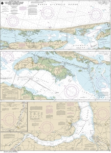 Picture of 12205 - Cape Henry To Pamlico Sound Nautical Chart