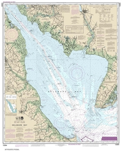 Picture of 12304 - Delaware Bay Nautical Chart