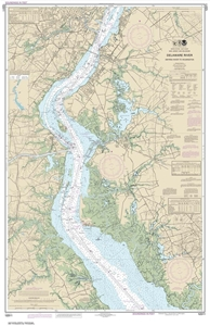 Picture of 12311 - Delaware River - Smyrna River To Wilmington Nautical Chart