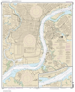 Picture of 12313 - Delaware River - Philadelphia And Camden Waterfronts Nautical Chart