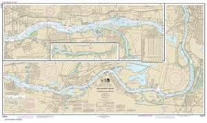 Picture of 12314 - Delaware River - Philadelphia To Trenton Nautical Chart