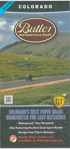 Picture of Colorado Motorcycle Map