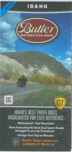 Picture of Idaho Motorcycle Map
