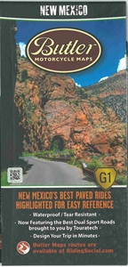 Picture of New Mexico Motorcycle Map