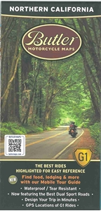 Picture of Northern California Motorcycle Map