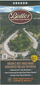 Picture of Oregon Motorcycle Map