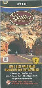 Picture of Utah Motorcycle Map