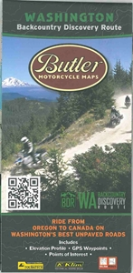 Picture of Washington Backcountry Discovery Route Motorcycle Map