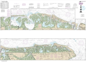 Picture of 12316 - Intracoastal Waterway - Little Egg Harbor To Cape May Nautical Chart