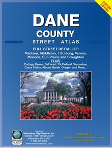 Picture of Dane County Wisconsin Street Atlas