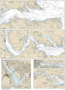 Picture of 12285 - Potomac River Nautical Chart