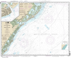 Picture of 12318 - Little Egg Inlet To Hereford Inlet Nautical Chart
