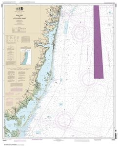Picture of 12323 - Sea Girt To Little Egg Inlet Nautical Chart