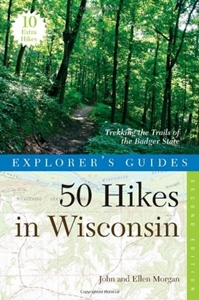 Picture of 50 Hikes in Wisconsin: Trekking the Trails of the Badger State