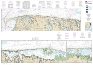Picture of 12324 - Intracoastal Waterway - Sandy Hook To Little Egg Harbor Nautical Chart