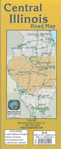 Picture of Central Illinois Road Map