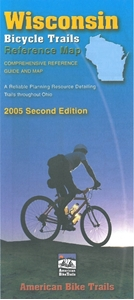 Picture of Wisconsin Bicycle (Biking) Trails Reference Map - 2005 Second Edition