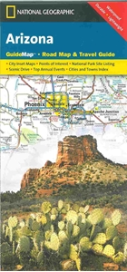 Picture of Arizona Guide Map